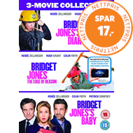 Bridget Jones 1-3 (UK-import) (DVD)