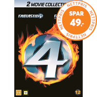 Produktbilde for Fantastic Four 1-2 (DK-import) (DVD)