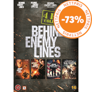 Produktbilde for Behind Enemy Lines 1-4 (DK-import) (DVD)
