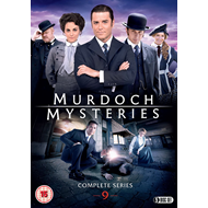 Murdoch Mysteries - Sesong 9 (UK-import) (DVD)