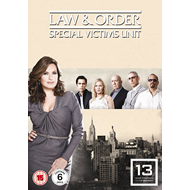 Law & Order: Special Victims Unit - Sesong 13 (UK-import) (DVD)