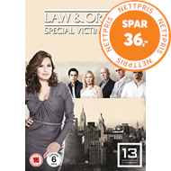Produktbilde for Law & Order: Special Victims Unit - Sesong 13 (UK-import) (DVD)