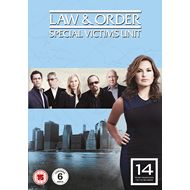 Law & Order: Special Victims Unit - Sesong 14 (UK-import) (DVD)