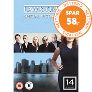 Produktbilde for Law & Order: Special Victims Unit - Sesong 14 (UK-import) (DVD)