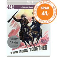 Produktbilde for Two Rode Together - The Masters Of Cinema Series (UK-import) (Blu-ray + DVD)
