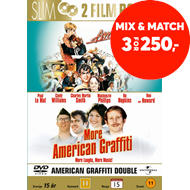 Produktbilde for American Graffiti 1 & 2 (DVD)
