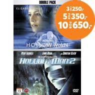 Produktbilde for Hollow Man 1 & 2 (DVD)