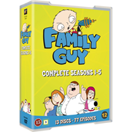 Family Guy - Complete Seasons 1 - 5 (DVD)