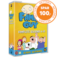 Produktbilde for Family Guy - Sesong 6 - 10 (DVD)