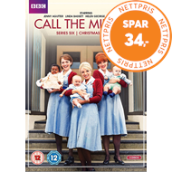 Call The Midwife / Nytt Liv I East End - Sesong 6 (UK-import) (DVD)