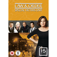 Law & Order: Special Victims Unit - Sesong 15 (UK-import) (DVD)