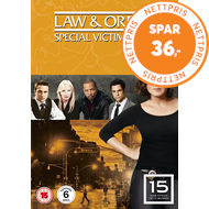 Produktbilde for Law & Order: Special Victims Unit - Sesong 15 (UK-import) (DVD)
