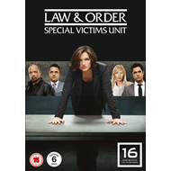 Law & Order: Special Victims Unit - Sesong 16 (UK-import) (DVD)