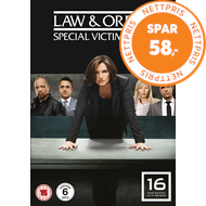 Produktbilde for Law & Order: Special Victims Unit - Sesong 16 (UK-import) (DVD)