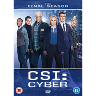 Produktbilde for CSI: Cyber - Final Season (UK-import) (DVD)