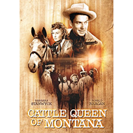 Cattle Queen Of Montana (UK-import) (DVD)