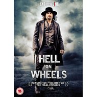 Hell On Wheels - Sesong 5 Del 2 (UK-import) (DVD)