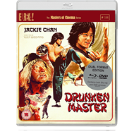 Produktbilde for Drunken Master - The Masters Of Cinema Series (UK-import) (Blu-ray + DVD)