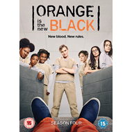 Orange Is The New Black - Sesong 4 (UK-import) (DVD)
