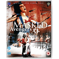 Masked Avengers (UK-import) (Blu-ray + DVD)