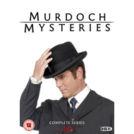 Murdoch Mysteries - Sesong 10 (UK-import) (DVD)