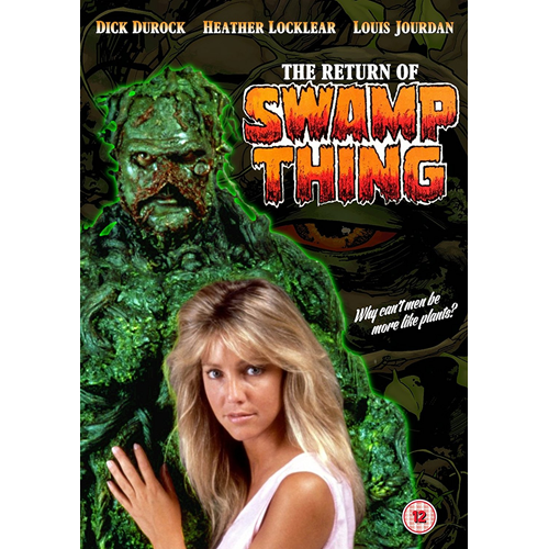 The Return Of Swamp Thing (UK-import) (DVD)