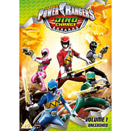 Power Rangers Dino Charge Unleashed (Volume 1) (UK-import) (DVD)