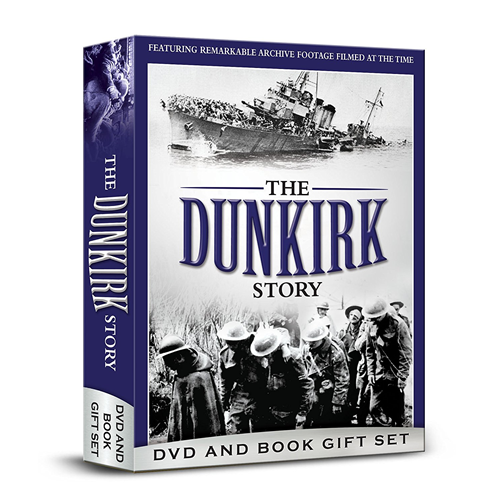 The Real Dunkirk - DVD & Book Gift Set (UK-import) (DVD)