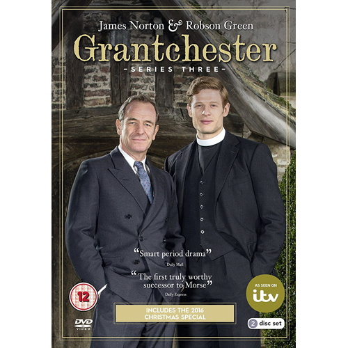 Grantchester - Sesong 3 (UK-import) (DVD)