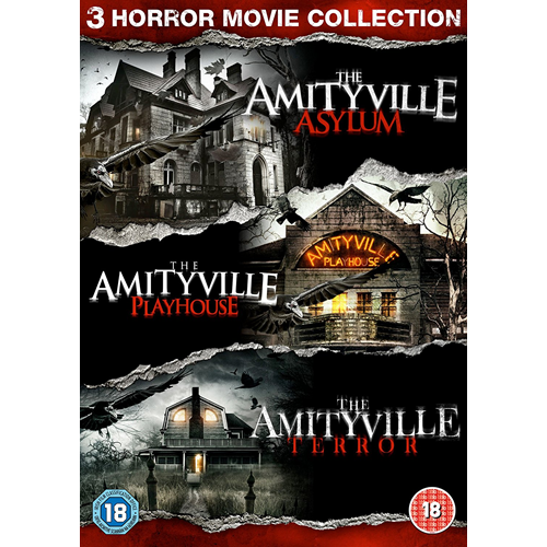Amityville - Horror Movie Collection (UK-import) (DVD)