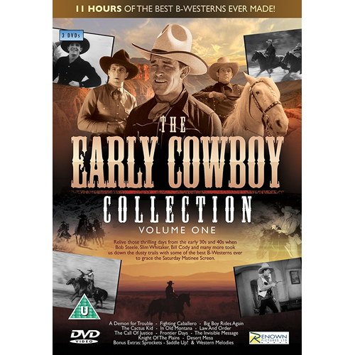 The Early Cowboy Collection: Volume 1 (UK-import) (DVD)