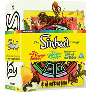 The Sinbad Trilogy (UK-import) (Blu-ray + DVD)