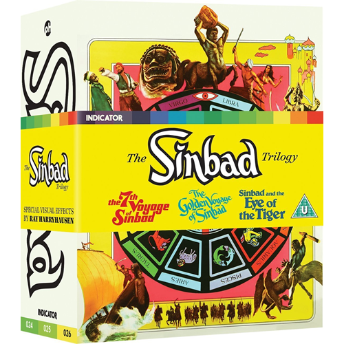 The Sinbad Trilogy (Blu-ray + DVD)