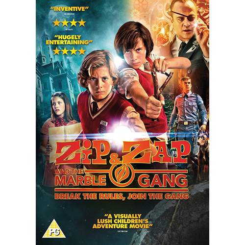 Zip & Zap And The Marble Gang (UK-import) (DVD)