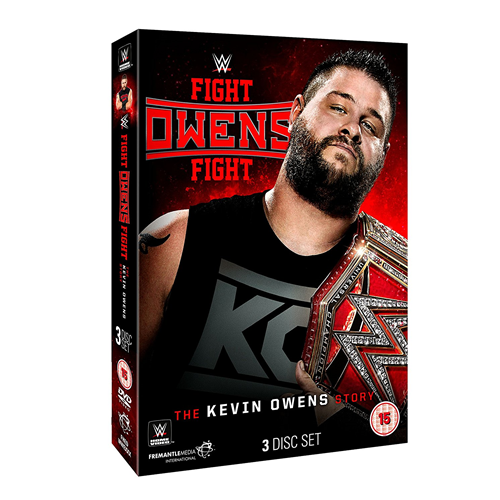 WWE: Fight Owens Fight - The Kevin Owens Story (DVD)