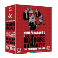 New Battles Without Honour And Humanity: The Complete Trilogy (UK-import) (Blu-ray + DVD)