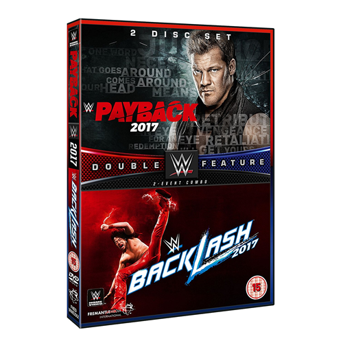 WWE: Payback 2017/Backlash 2017 (DVD)
