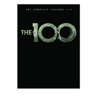 The 100 - Sesong 1-4 (UK-import) (DVD)