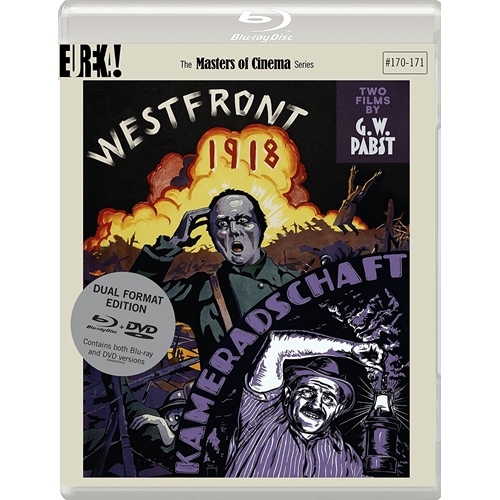 Westfront 1918 / Kameradschaft - The Masters Of Cinema Series (UK-import) (Blu-ray + DVD)