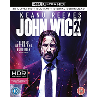 Produktbilde for John Wick: Chapter 2 (UK-import) (4K Ultra HD + Blu-ray)