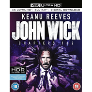Produktbilde for John Wick: Chapters 1 & 2 (UK-import) (4K Ultra HD + Blu-ray)