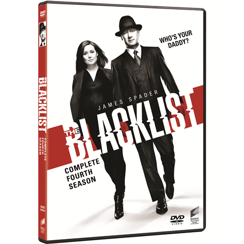 The Blacklist - Sesong 4 (DVD)