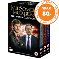 Produktbilde for Midsomer Murders: Nelson's Casebook (UK-import) (DVD)