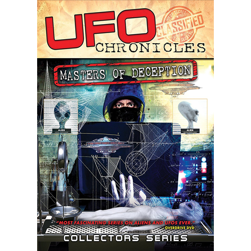 UFO Chronicles: Masters Of Deception (UK-import) (DVD)