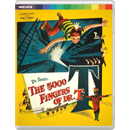 The 5000 Fingers Of Dr. T (UK-import) (Blu-ray + DVD)