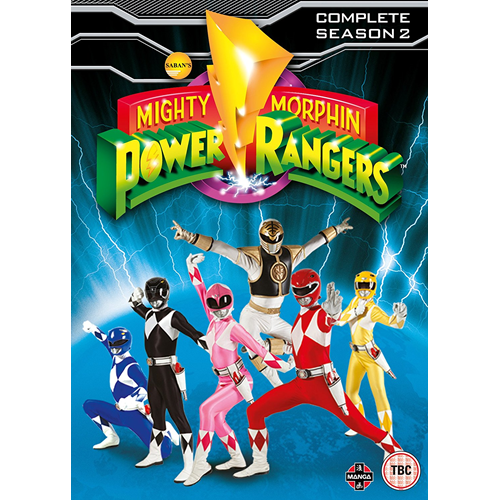 Mighty Morphin Power Rangers: Complete Season 2 (DVD)