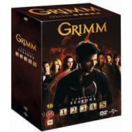 Grimm - Sesong 1-5 (DVD)