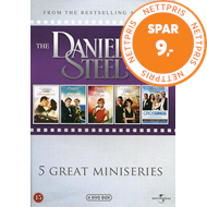 Produktbilde for The Danielle Steel Collection - 5 Great Miniseries Volume 4 (DVD)