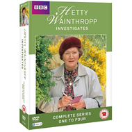 Hetty Wainthropp Investigates - Sesong 1-4 (UK-import) (DVD)