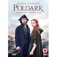 Poldark - Sesong 1-3 (UK-import) (DVD)